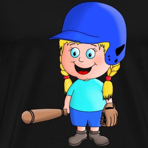 kleiner Baseball Star - Männer Premium T-Shirt