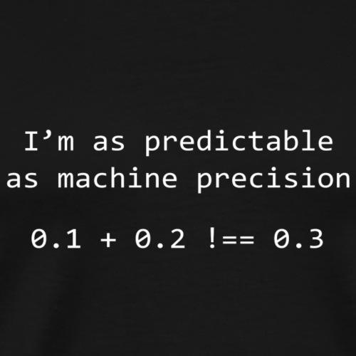 Machine Precision - White - Men's Premium T-Shirt