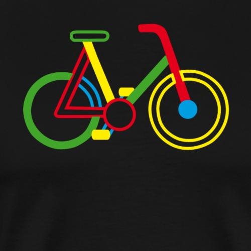 Fahrrad Rad - Männer Premium T-Shirt