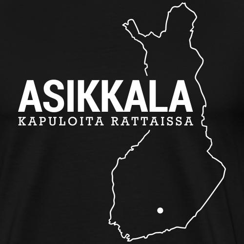 Kotiseutupaita - Asikkala - Miesten premium t-paita