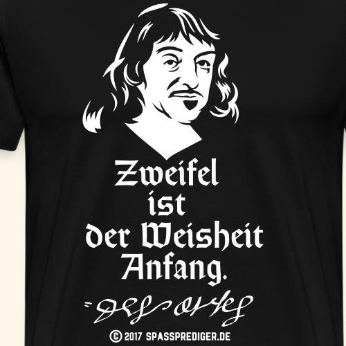 Descartes T-Shirt Design - Männer Premium T-Shirt