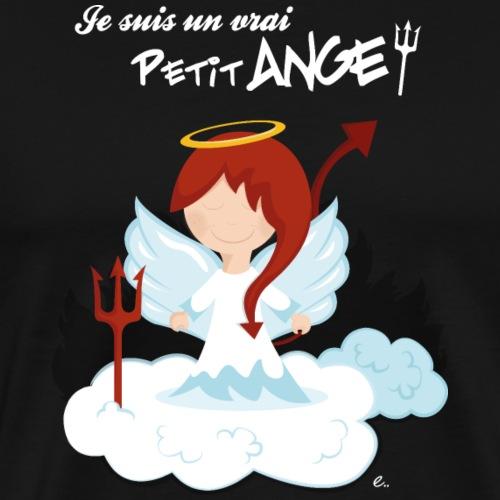 Je suis un vrai petit ange ! - T-shirt Premium Homme