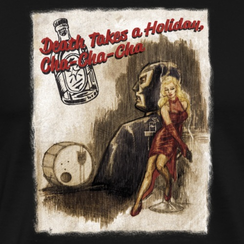 Death Takes a Holiday - Premium-T-shirt herr