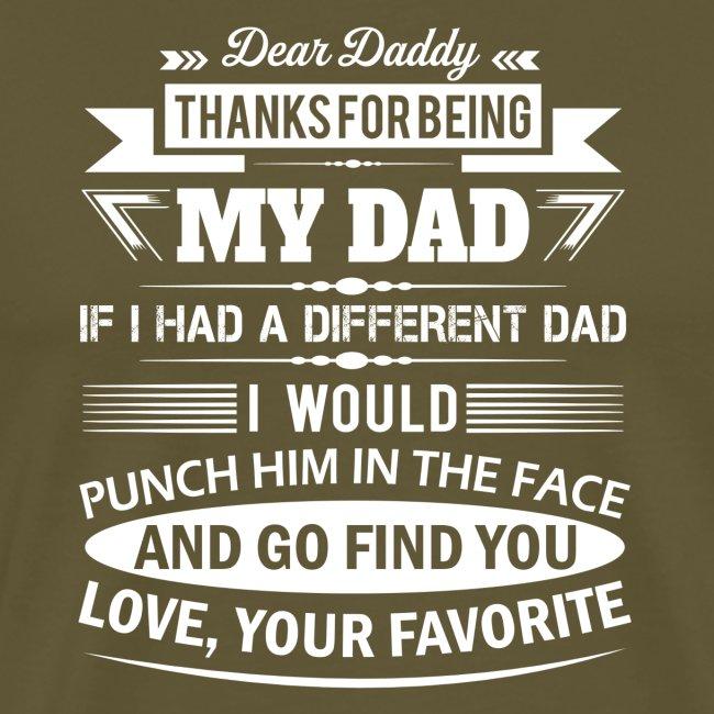 Dear Daddy...