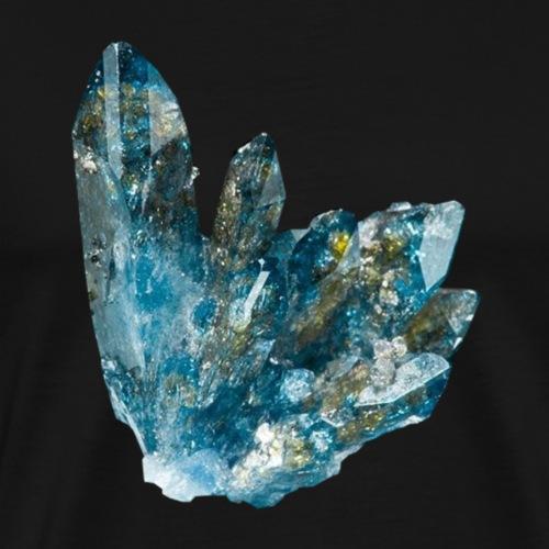 Scorodit Skorodit Mineral Kristall Phosphat - Männer Premium T-Shirt