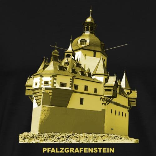 Pfalzgrafenstein Kaub Pfalz Rhein Rheinland-Pfalz - Männer Premium T-Shirt