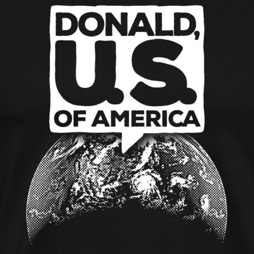 Donald, U. S. of America - Männer Premium T-Shirt