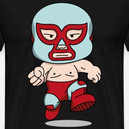 El luchador (avec ombre) - T-shirt Premium Homme