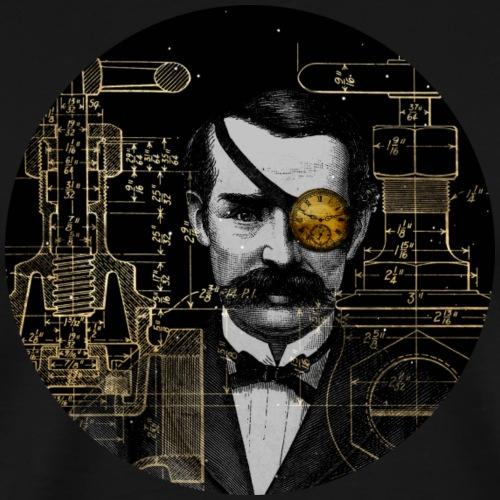 Steampunk 1 - Männer Premium T-Shirt