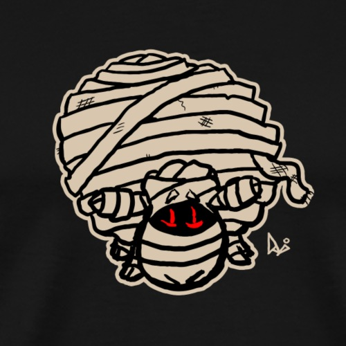 Mummy Sheep - Herre premium T-shirt