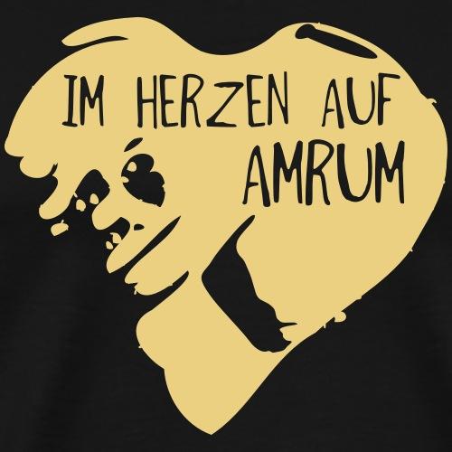 Im Herzen auf Amrum Shop - Männer Premium T-Shirt