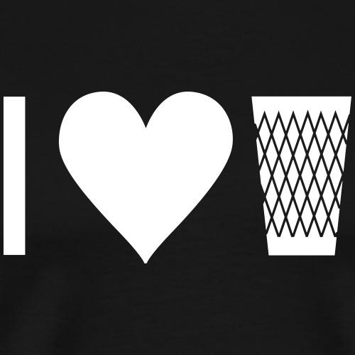 I LOVE GERIPPTES - I LOVE MY SCHOPPE - Männer Premium T-Shirt