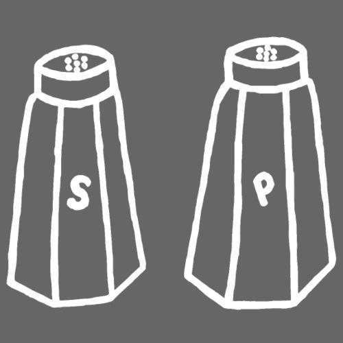 Salz und Pfeffer Salzstreuer Pfefferstreuer Kochen - Männer Premium T-Shirt
