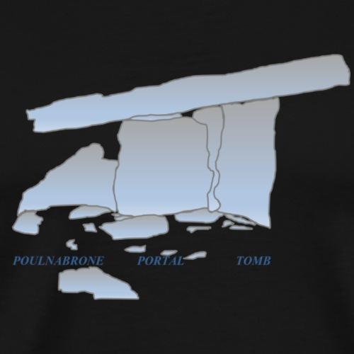 poulnabrone portal tomb - Men's Premium T-Shirt