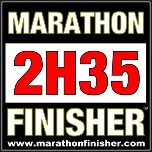 MARATHON FINISHER 2H35