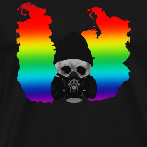 punk skull 2 - Men's Premium T-Shirt