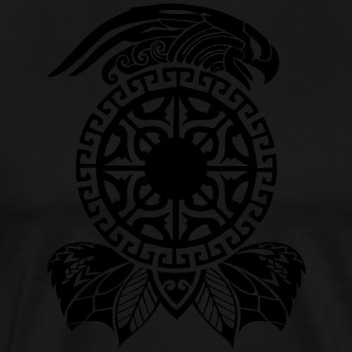 maori tattoo auf T-Shirt - Männer Premium T-Shirt