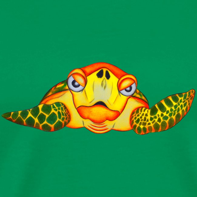Angry Turtle Fluo