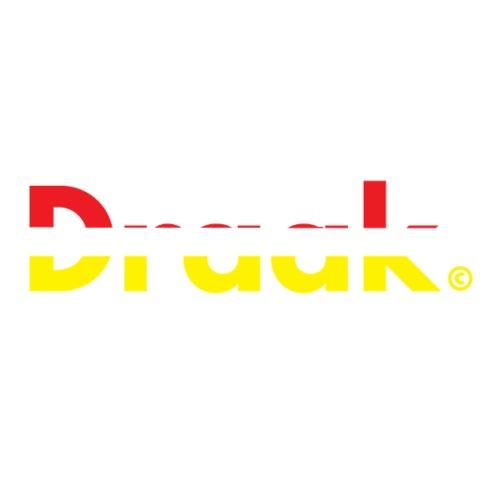 Draak Transparant Design - Mannen Premium T-shirt