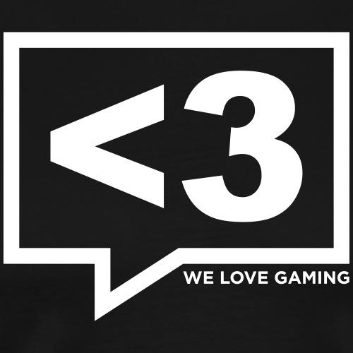 We Love Gaming - Männer Premium T-Shirt