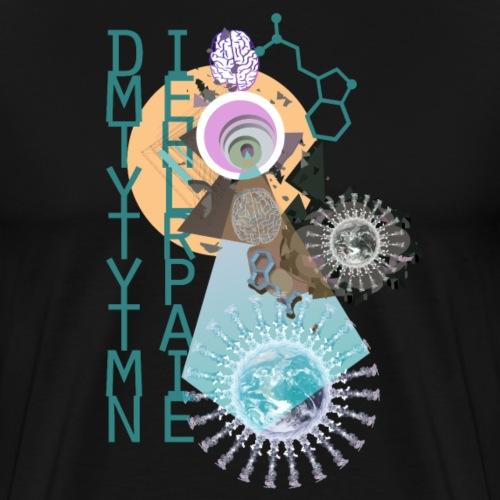 Psychedelic World - Männer Premium T-Shirt
