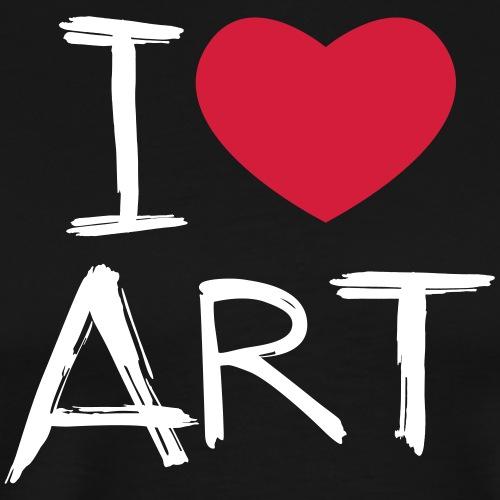 I love Art - Männer Premium T-Shirt