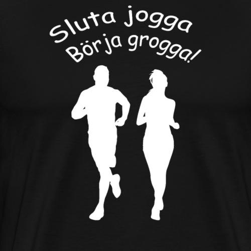 jogga - Premium-T-shirt herr
