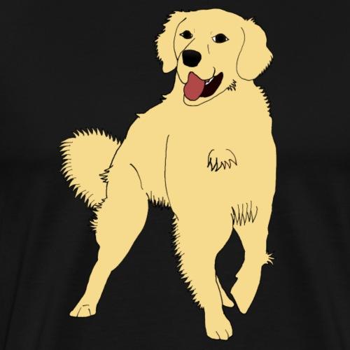 GOLDEN RETRIEVER - T-shirt Premium Homme