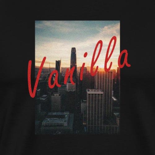 Vanilla Vintage Cityscape - Premium-T-shirt herr
