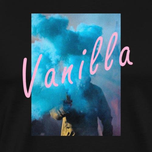 Vanilla Pink Blue Smoke Suit Vintage - Premium-T-shirt herr