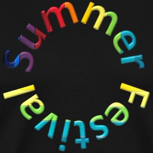 summer festival - Men's Premium T-Shirt