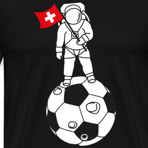 To The Moon Schweiz - Männer Premium T-Shirt