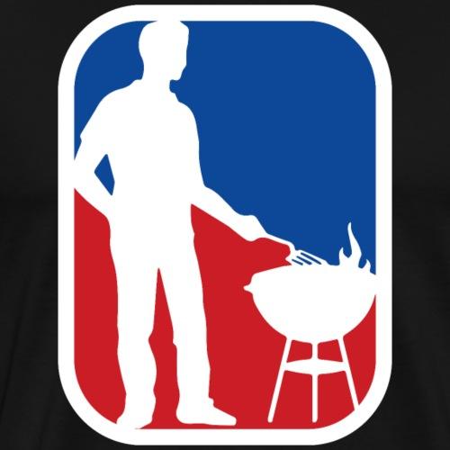 National BBQ Association - T-shirt Premium Homme
