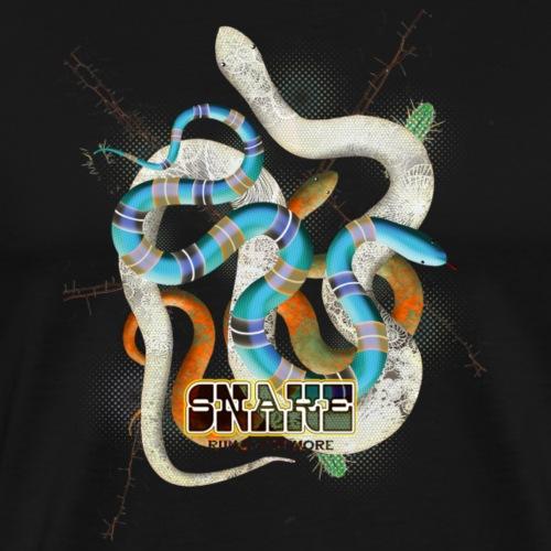 SNAKE - Camiseta premium hombre