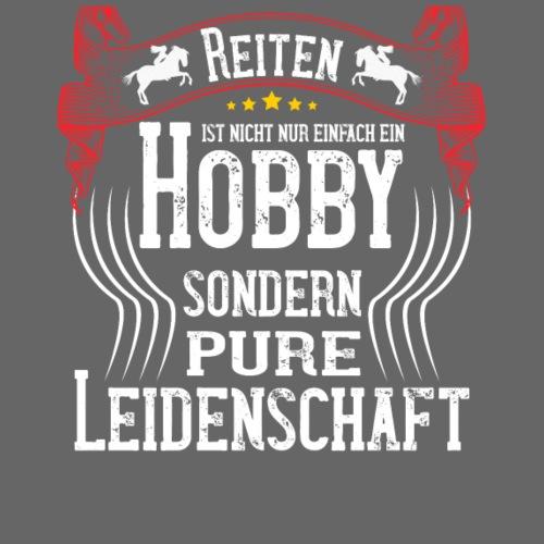 reiten ist kein hobby sondern eine leidenschaft - Männer Premium T-Shirt