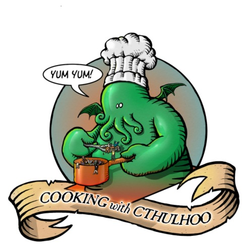 Cooking with Cthulhoo - T-shirt Premium Homme