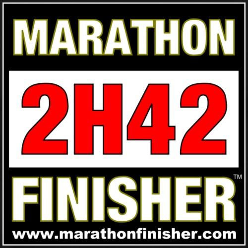MARATHON FINISHER 2H42