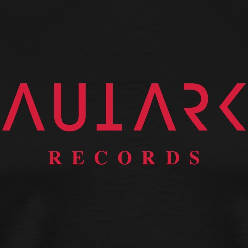 Autark Records Logo red - Männer Premium T-Shirt