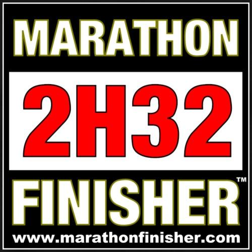 MARATHON FINISHER 2H32
