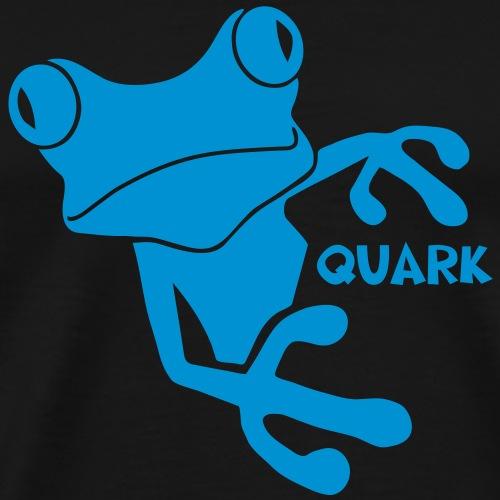 frosch prinz quark quak quatsch kröte lurch könig - Männer Premium T-Shirt