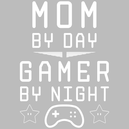 mom by day gamer by night - Männer Premium T-Shirt