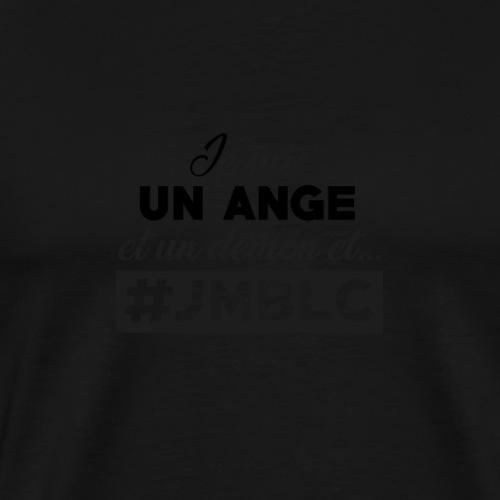 Je suis un ange et un démon - T-shirt Premium Homme
