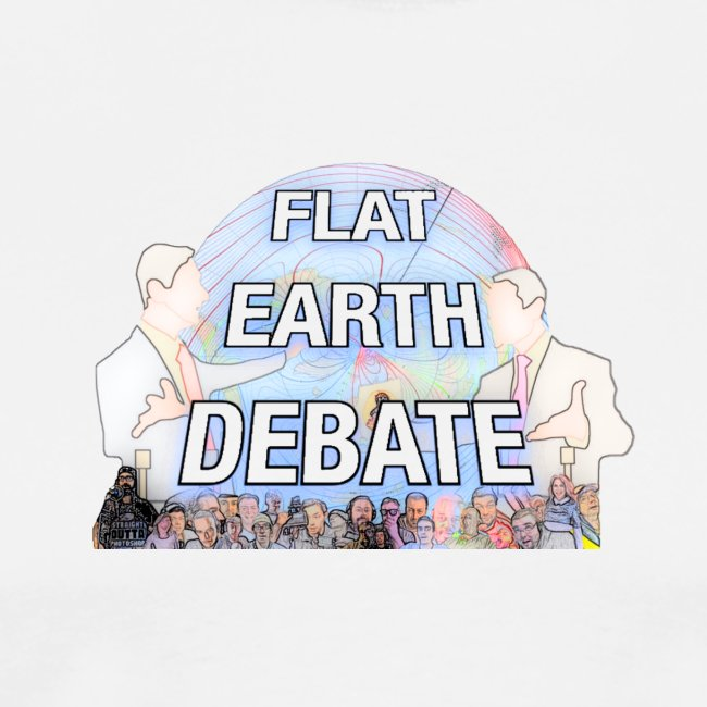 Flat Earth Debate Cartoon