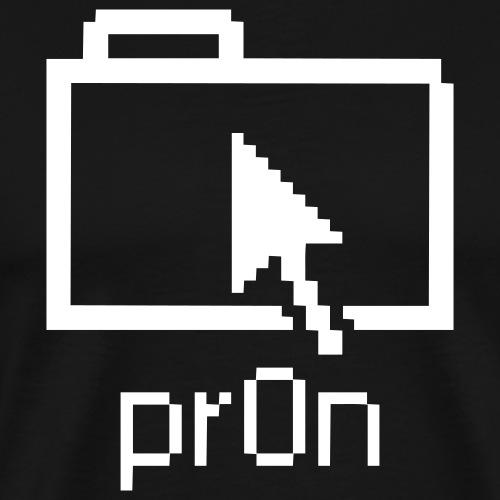 pr0n - Premium-T-shirt herr