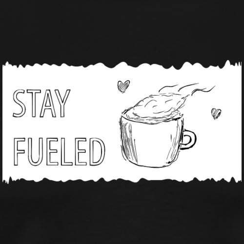 Stay Fueled Coffee - Männer Premium T-Shirt