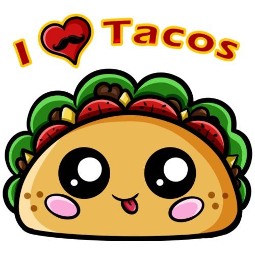 I Love Tacos - T-shirt Premium Homme