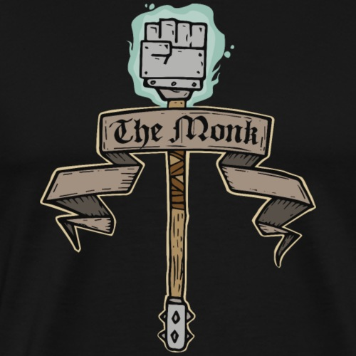 The Monk - Men's Premium T-Shirt