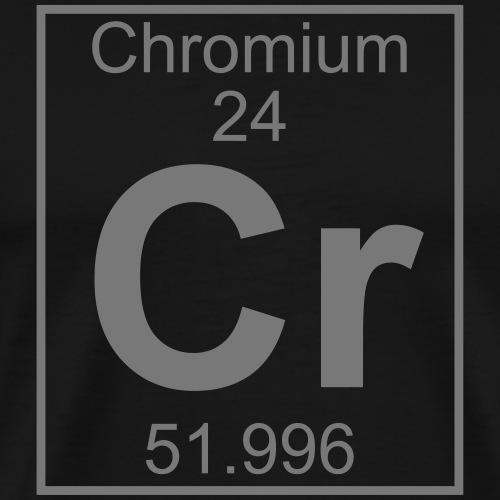 Chromium (Cr) (element 24) - Men's Premium T-Shirt