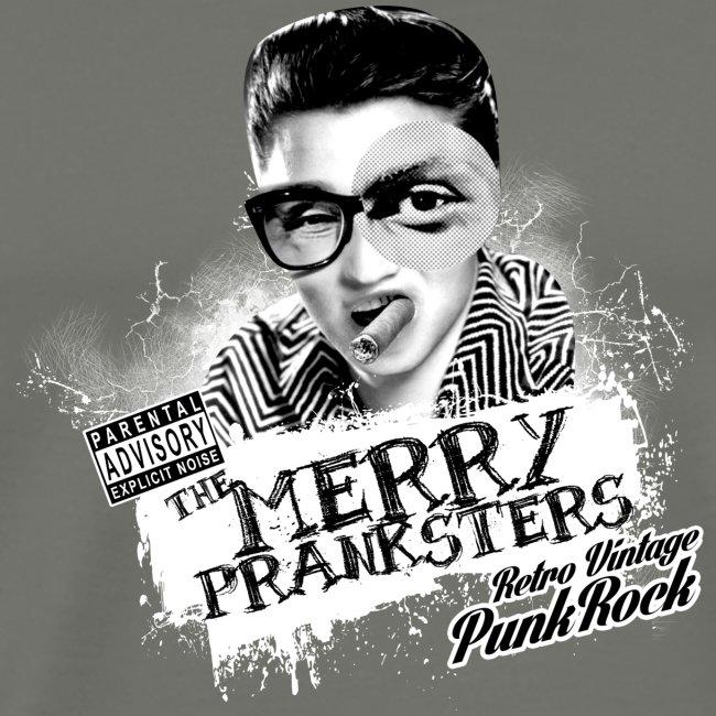 The Merry Pranksters Standard - Black T-Shirt
