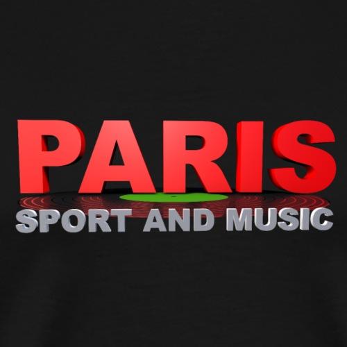 PARIS SPORT AND MUSIC - T-shirt Premium Homme
